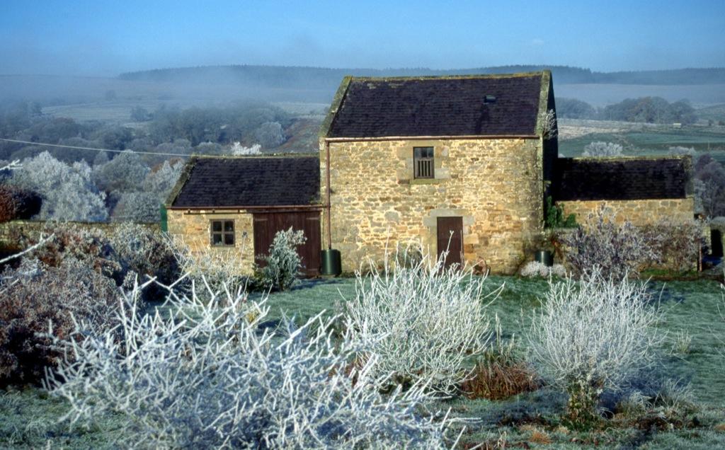 Northumbrian Barn in Winter