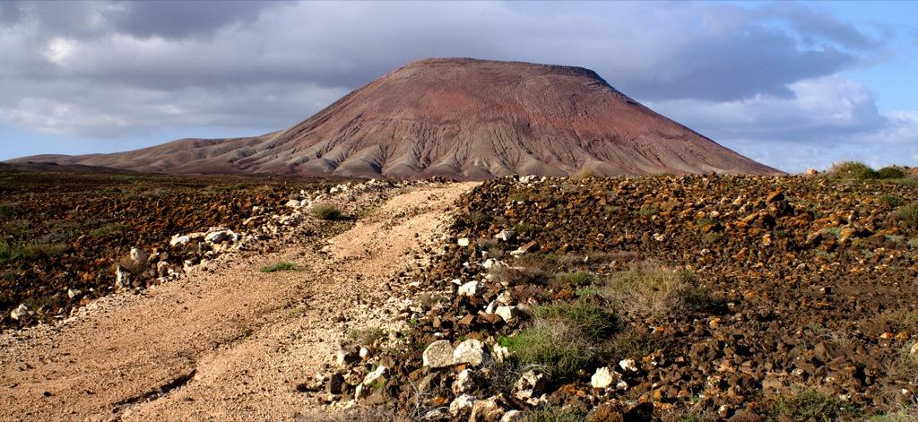 Volcanic landscape, Fuerteventura