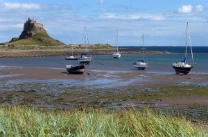 Lindisfarne castle and Holy Island