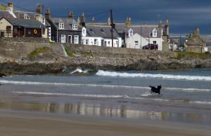 Sandend Aberdeenshire coast