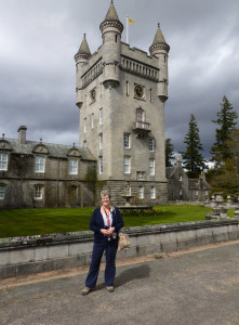 Jims shot of me at Balmoral